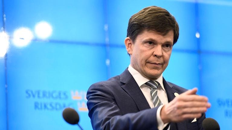 andreas norlén, talman