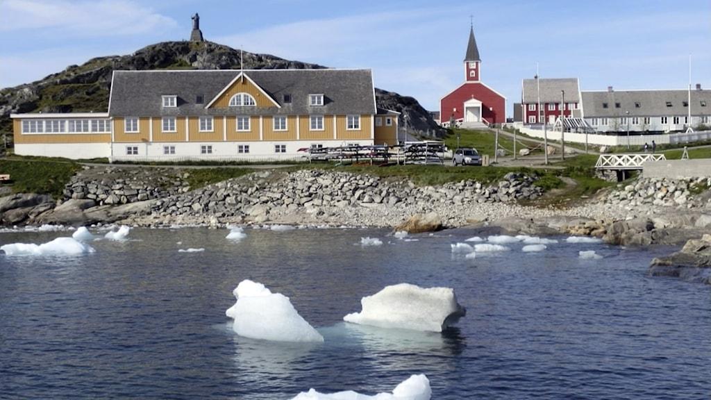 Nuuk i Grönland