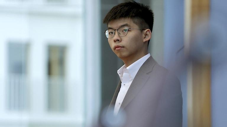 Hong Kong activist Joshua Wong