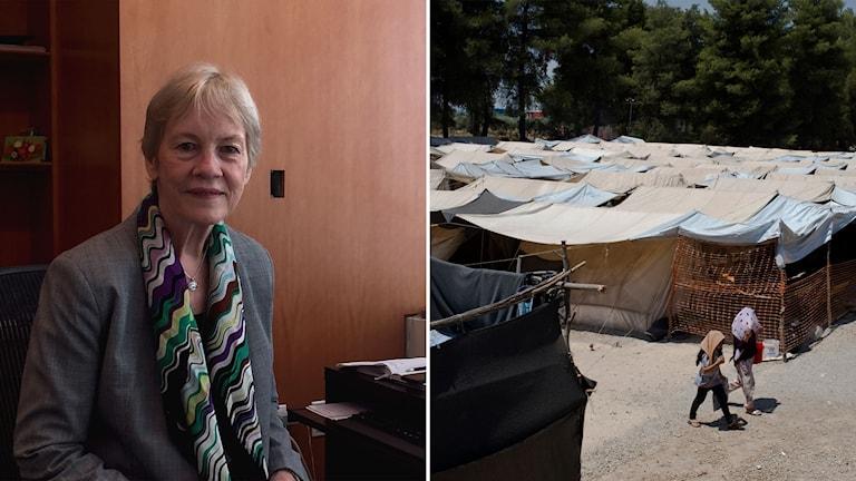 FN-tjänstemannen Karin AbuZayd.
