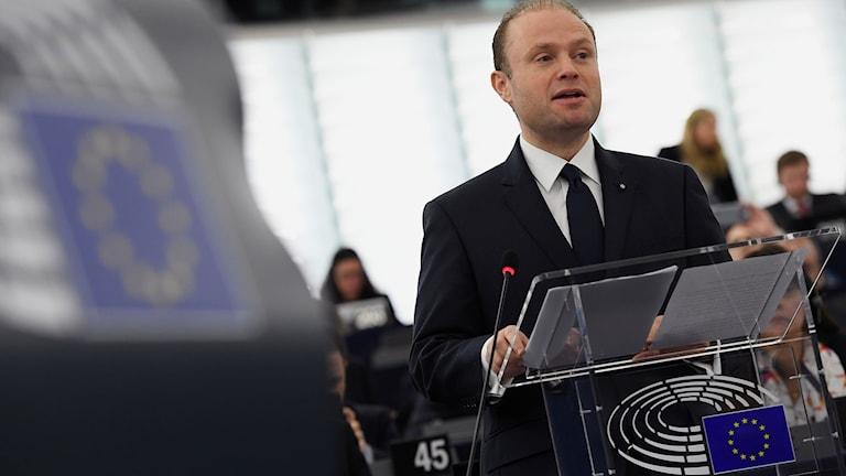 Maltas premiärminister Joseph Muscat som just nu är ordförande i EU.