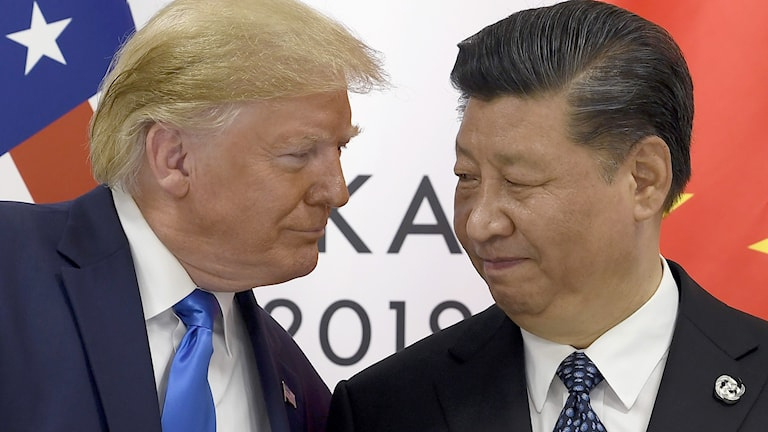 Trump och Xi Jinping