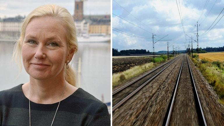Infrastrukturminister Anna Johansson (S)