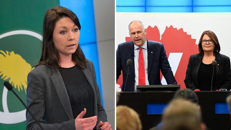 Miljöpartiets riksdagsgrupp stödjer Vänsterpartiets kandidat som 2.e vice talman.