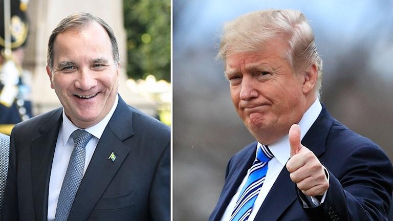 Löfven och Trump