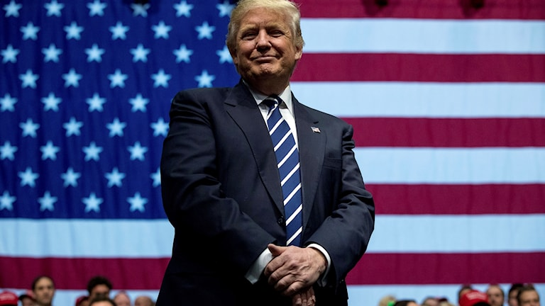 USA:s tillträdande president Donald Trump.