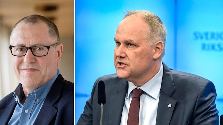 Anders Weihe och Jonas Sjöstedt