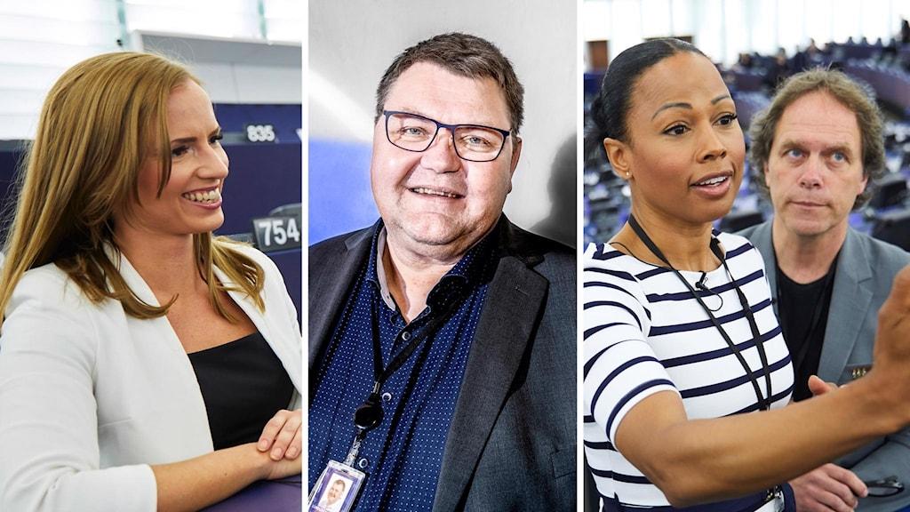 Svenska ledamöter i EU-parlamentet