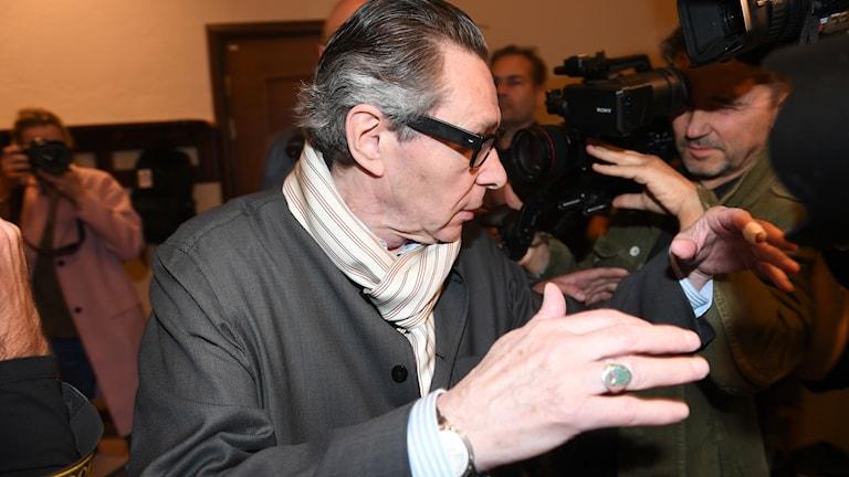 Jean-Claude Arnault i Stockholms tingsrätt.
