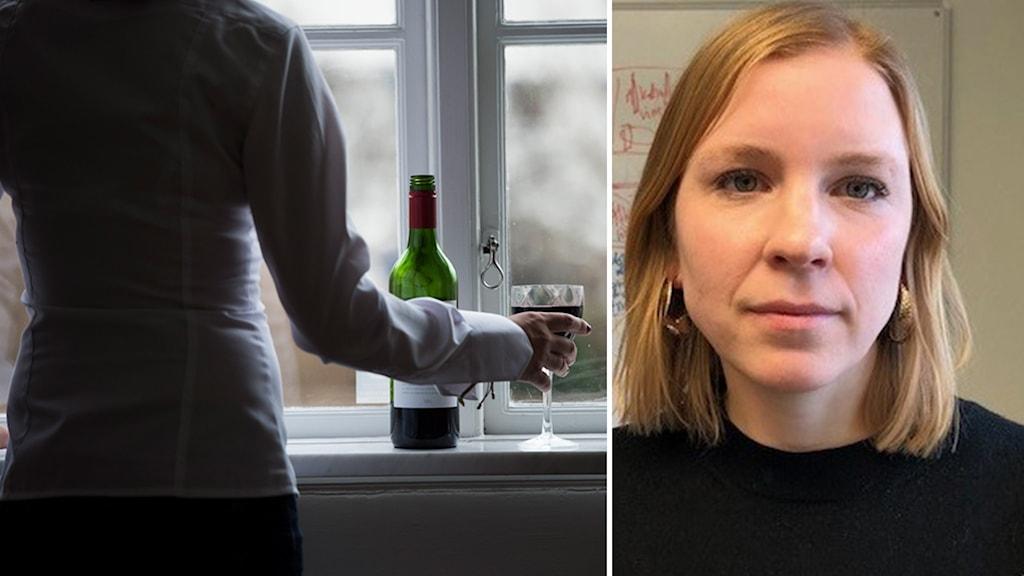 Kerstin Annerborn, enhetschef på Beroendecentrum i Stockholm.