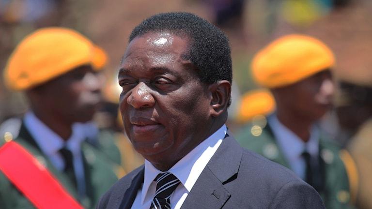 Politiker i Zimbabwe.