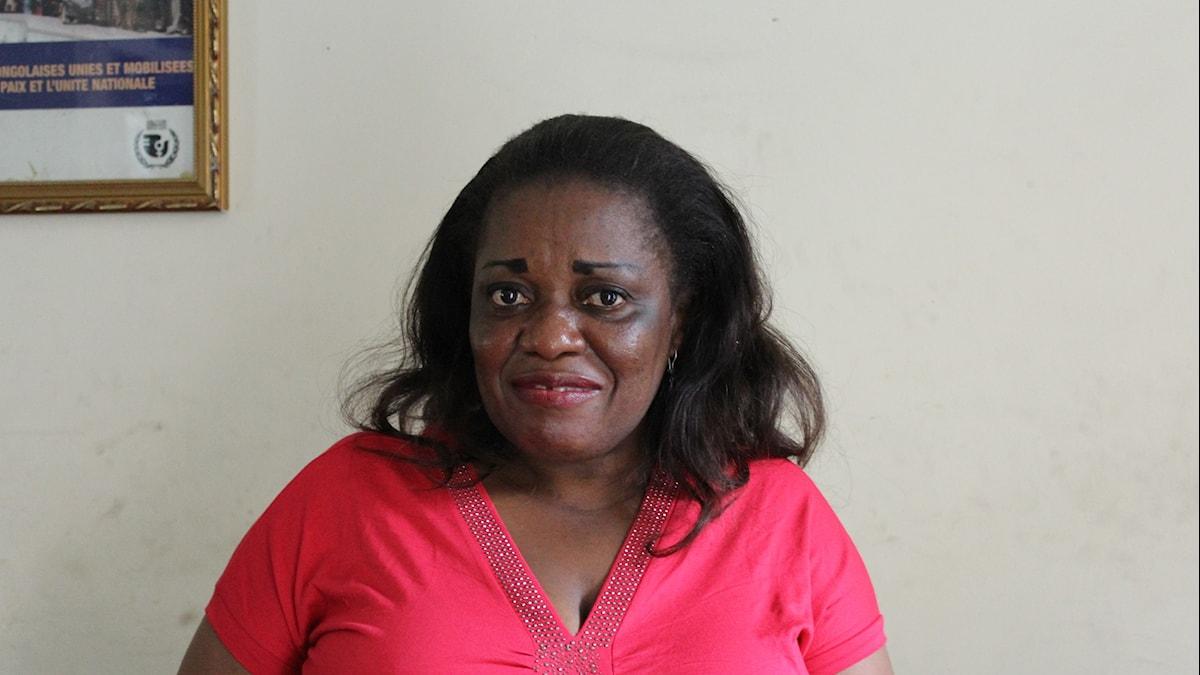 Irène Esambo Diata är advokat och med fokus på att hjälpa kvinnor som utsatts för sexuellt våld.