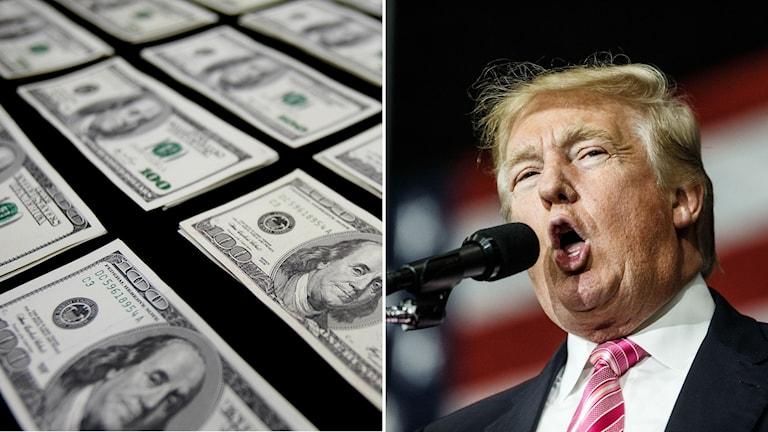 Republikanernas presidentkandidat Donald Trump kan ha undvikit att betala skatt i 18 år