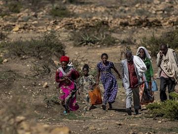 Kritiskt läge i Tigray – Varnas för folkmord