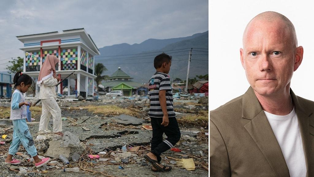 Ekots Peder Gustafsson på plats i Indonesien efter tsunamin