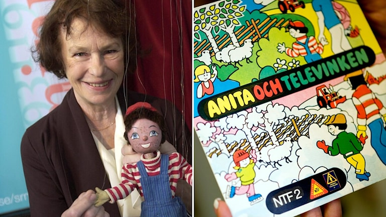 Anita Lindman och Televinken