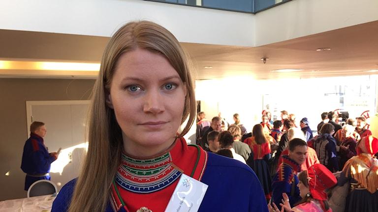 Josefina Skerk ledamot i Sametinget i Sverige
