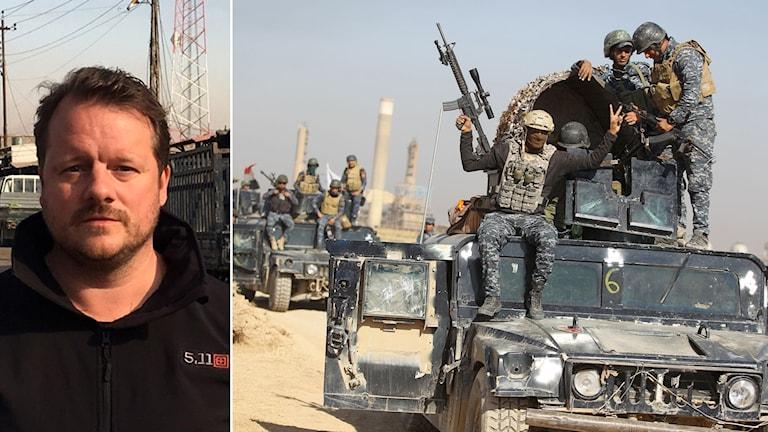 Ekots Mellanösternkorrespondent berättar om konflikten i Kirkuk.