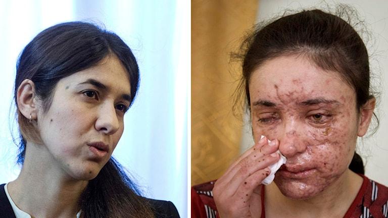Nadia Murad och Lamiya Aji Bashar vinnare av EU:s Sacharovpriset