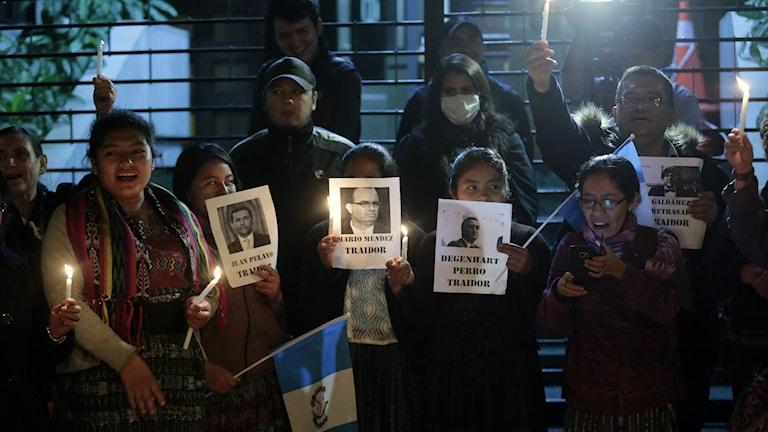 Antikorruptionsbyrån lämnar Guatemala