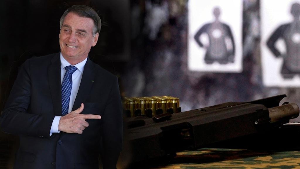President Bolsonaro skrev under en order som gör det lättare för landets medborgare att köpa vapen.