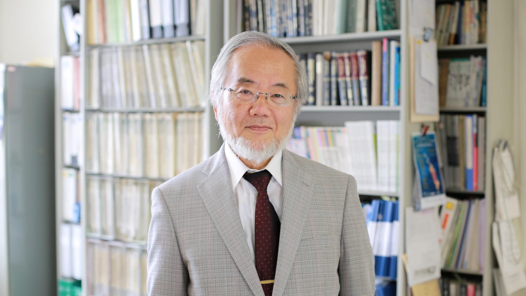2016 års Nobelpristagare i medicin: Yoshinori Ohsumi