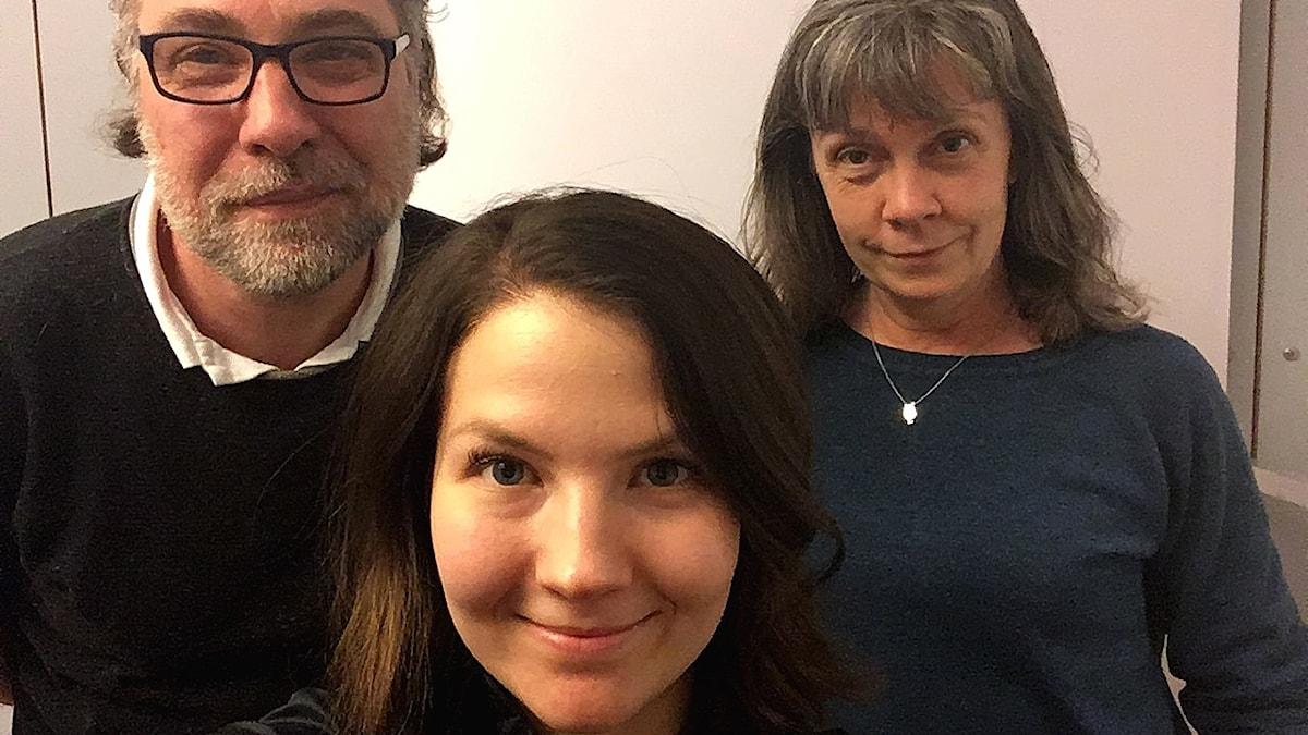 Anders Ask, Cecilia Khavar och Nina Benner