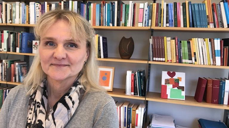 Titti Mattson, professor i offentlig rätt vid Lunds universitet. Foto: Petra Haupt/Sveriges Radio