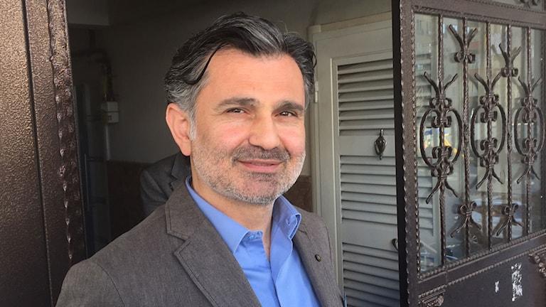 Ziya Pir som är parlamentariker för det prokurdiska partiet HDP.