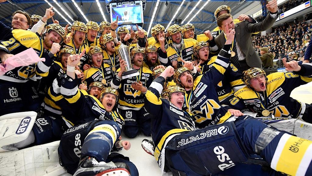 HV71 svenska mästare