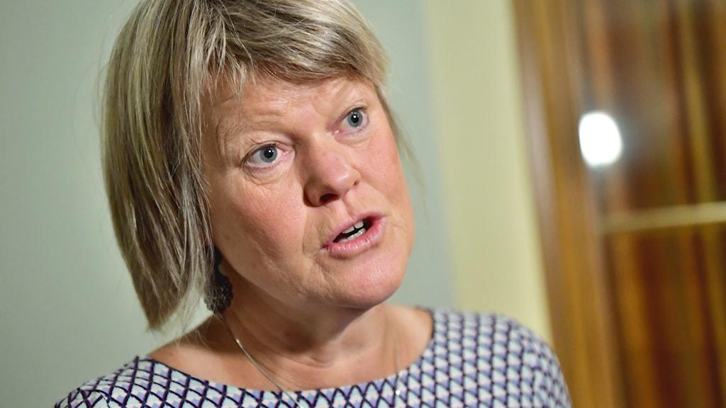 Vänsterpartiets Ulla Andersson.