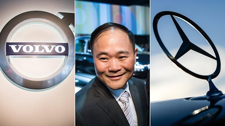Samarbete Volvo Mercedes