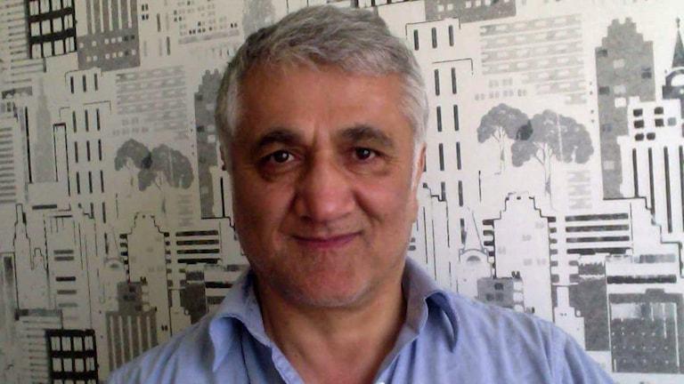 Porträtt på Hamza Yalcin.