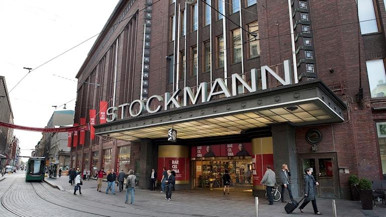 Finska varuhuskedjan Stockmann.