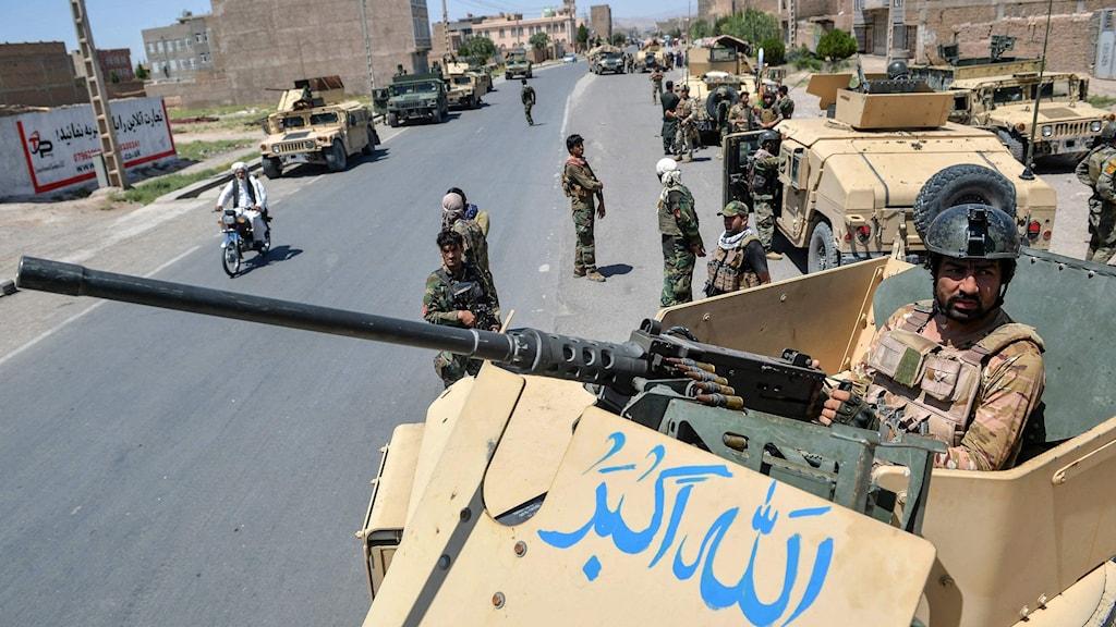 Militärer i Afghanistan.