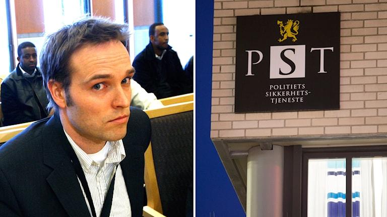 Martin Berntsen på norska säkerhetspolisen PST.