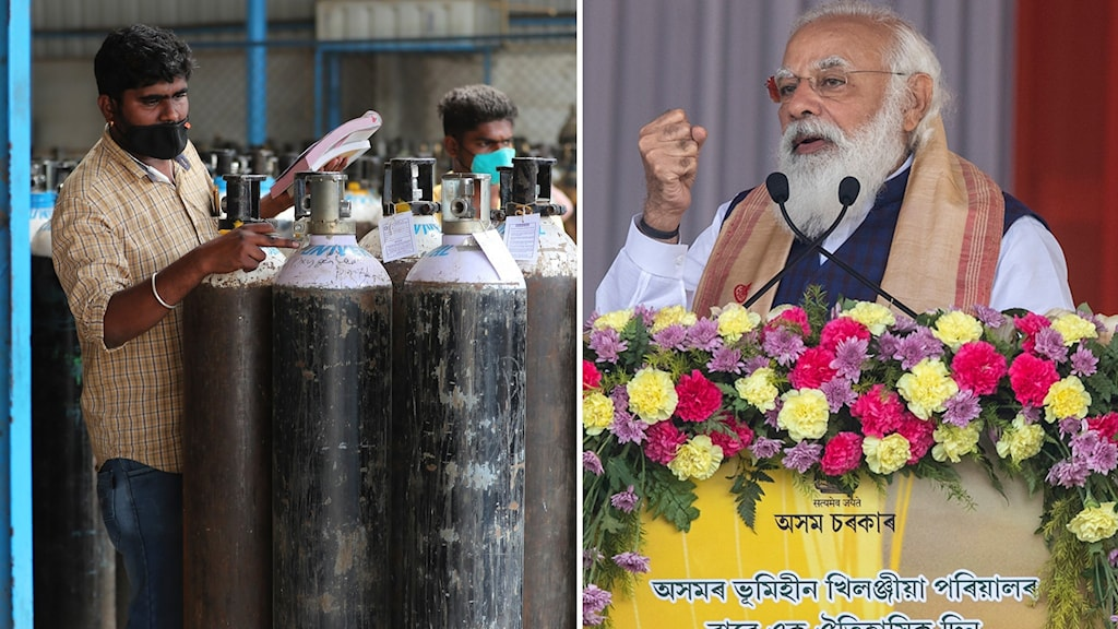 Indiens premiärminister Narendra Modi.