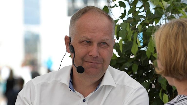 Vänsterpartiets partiledare Jonas Sjöstedt.