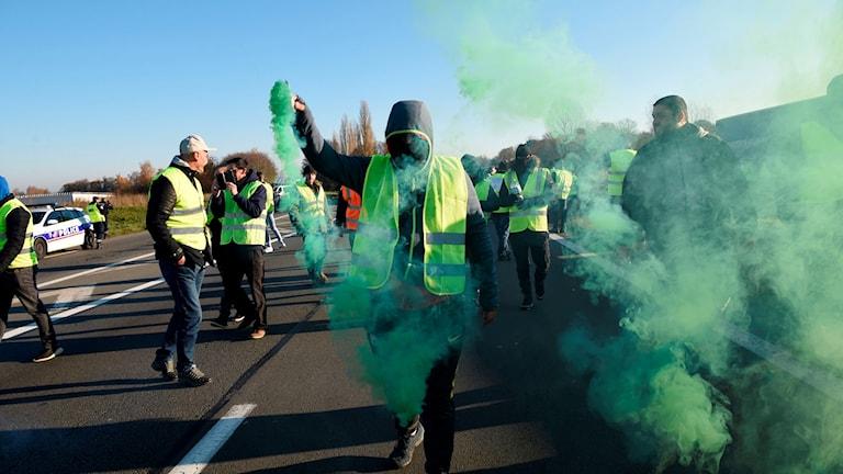Protester mot miljöskatt – en person död