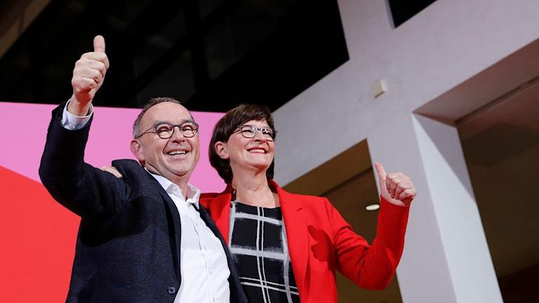 Norbert Walter Borjans och Saskia Esken