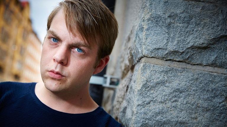 Porträtt på kriminologen Christoffer Carlsson.