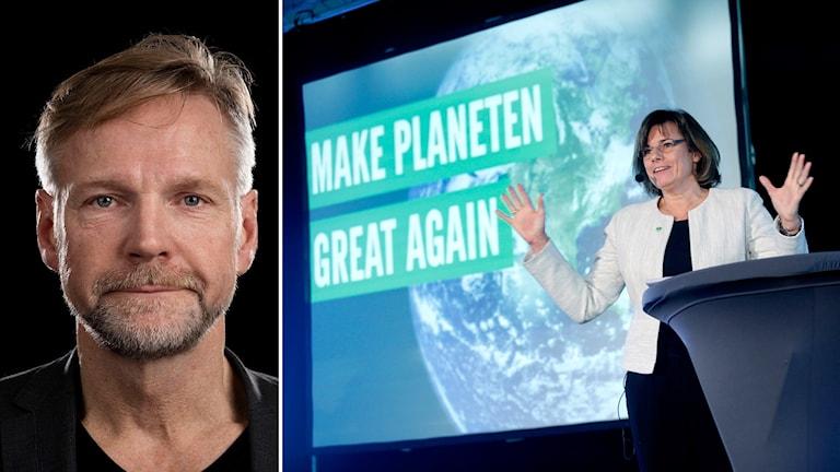 Tomas Ramberg om Språkröret Isabella Lövin talade på Miljöpartiets kommun- och landstingsdagar i Sundsvall på lördagen.
