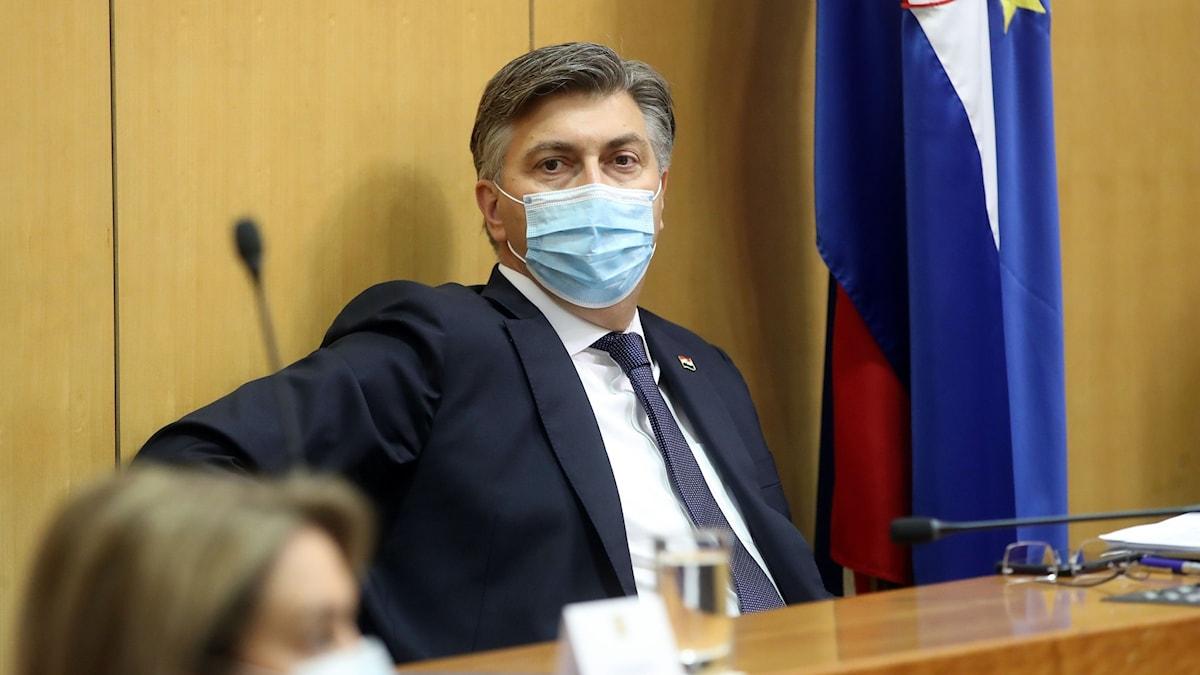 Kroatiens premiärministern Andrej Plenkovic.