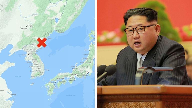 Kärnvapentest Nordkorea