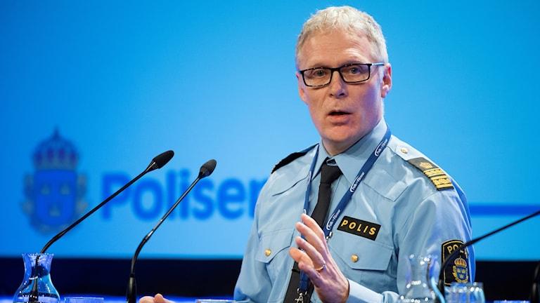 Ulf Merlander, lokalpolisområdeschef Storgöteborg nordost.