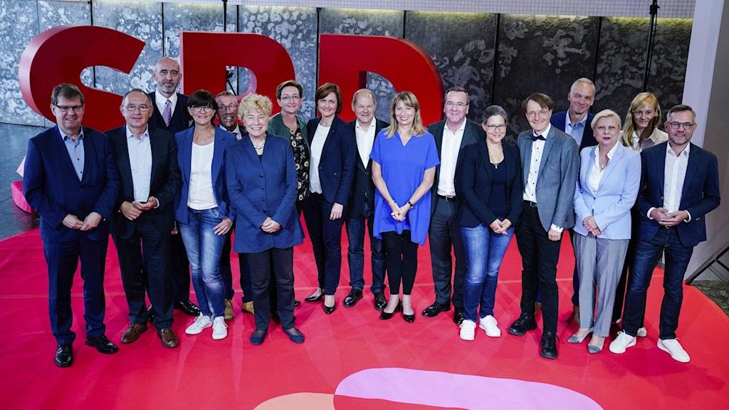 Kandidaterna till ledarposten för socialdemokratiska partiet i Tyskland, SPD.