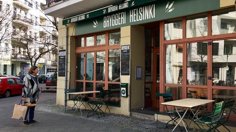 I grannskapet sprids uppmaningar att bojkotta restaurangen, som ägs av ordföranden för de finska SS-veteranernas kamratförening Veljesapu – Broder-hjälp. Foto: Daniela Marquardt/SR
