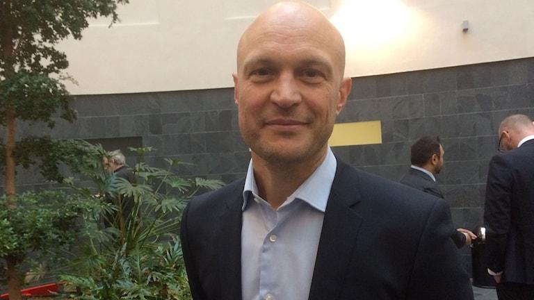 Fredrik Önnevall hoppas på en friande dom i hovrätten. Foto: Anna Bubenko/Sveriges Radio.