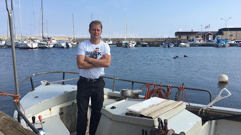 Daniel Hörvin, femte generationens ålfiskare från Sölvesborg