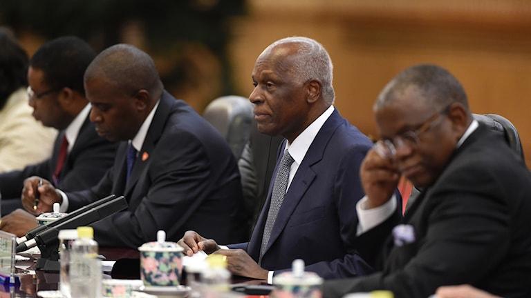 Angolas tidigare president Jose Eduardo Dos Santos.
